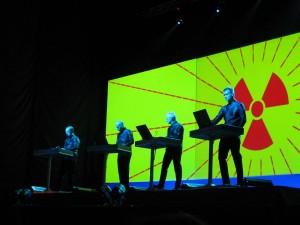 Kraftwerk live in Kiew, 2008, (c) Andriy Makukha