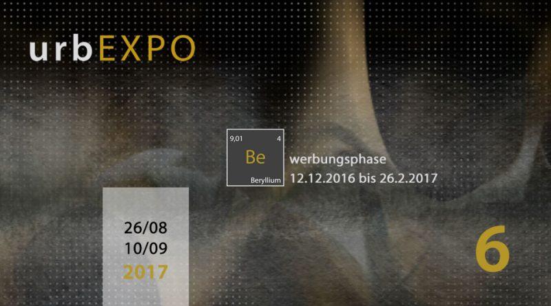Bewerbung zur urbEXPO 2017